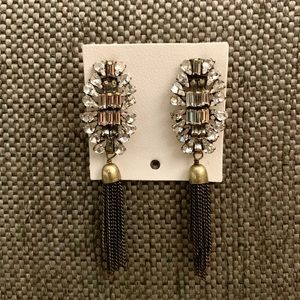 NWT Free People Rhinestone Earings